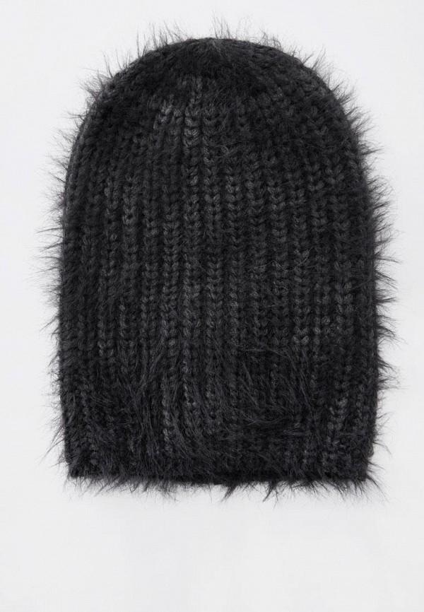 женская шапка pull & bear, серая