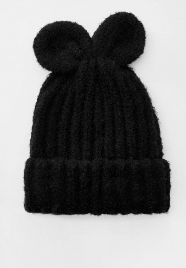женская шапка pull & bear, черная