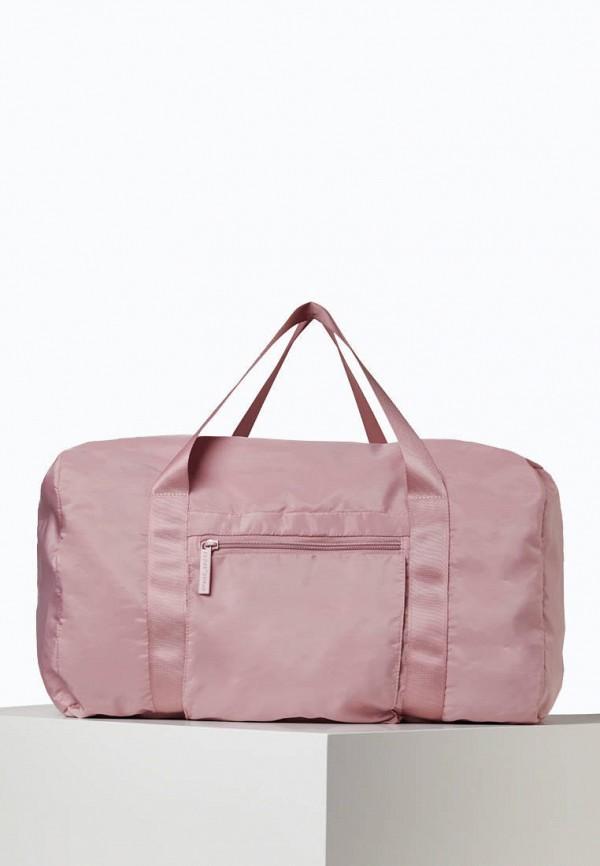 женская спортивные сумка oysho, розовая