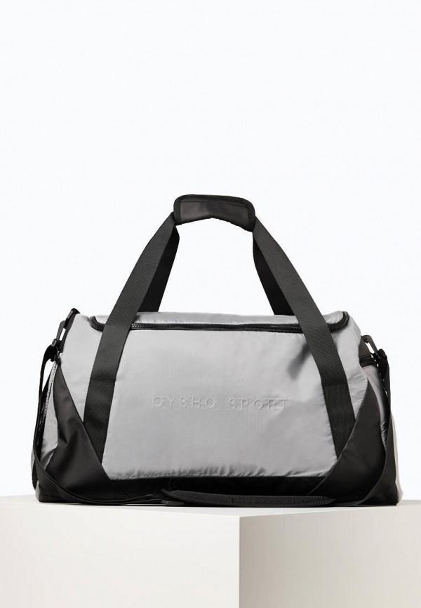 женская спортивные сумка oysho, серая