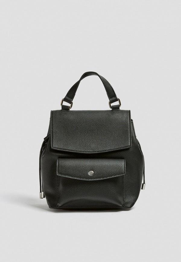 женский рюкзак pull & bear, черный