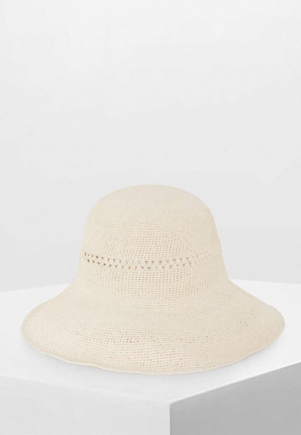 женская шляпа oysho, бежевая