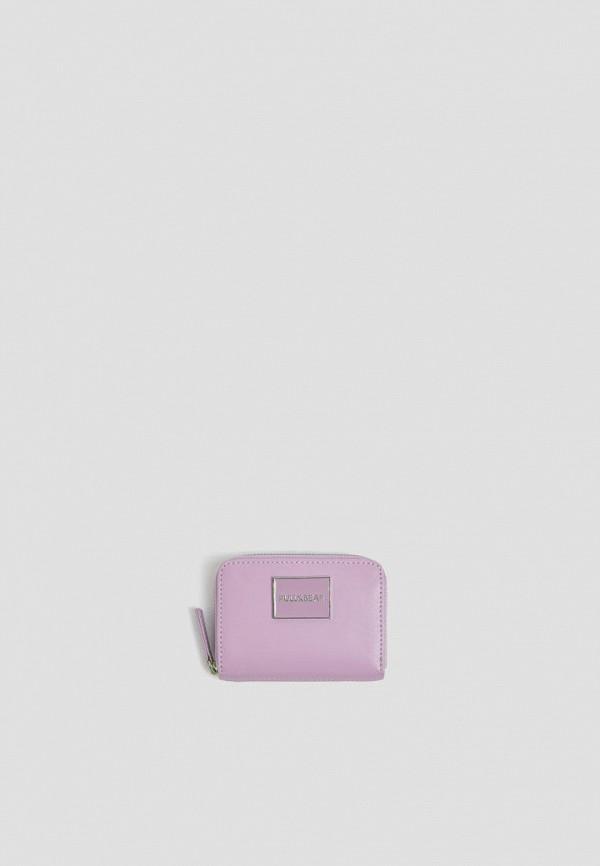 женский кошелёк pull & bear, фиолетовый