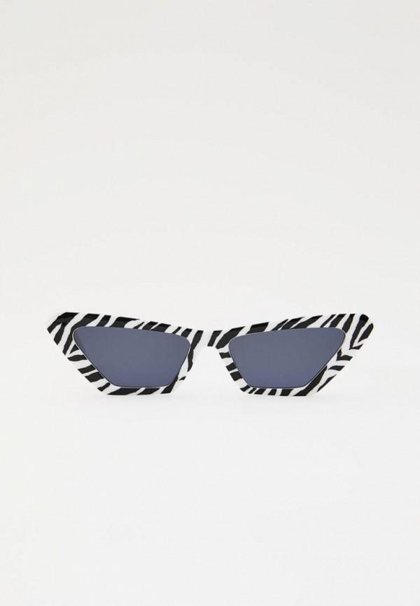 женские солнцезащитные очки кошачьи глаза pull & bear, разноцветные
