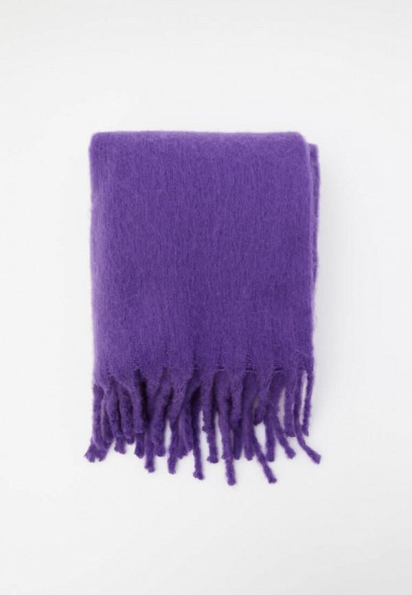женский палантин pull & bear, фиолетовый