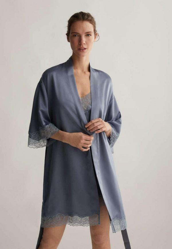Атласные и кружевные халаты