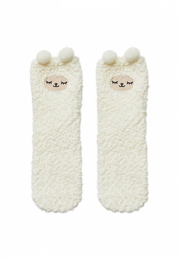 женские носки stradivarius, белые