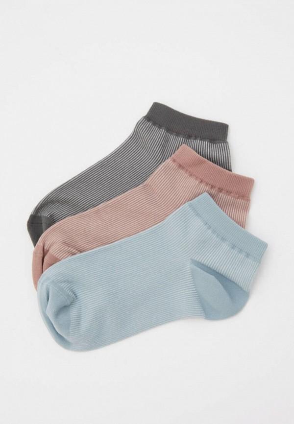 женские носки pull & bear, разноцветные