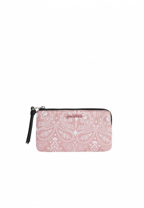 женский кошелёк stradivarius, розовый