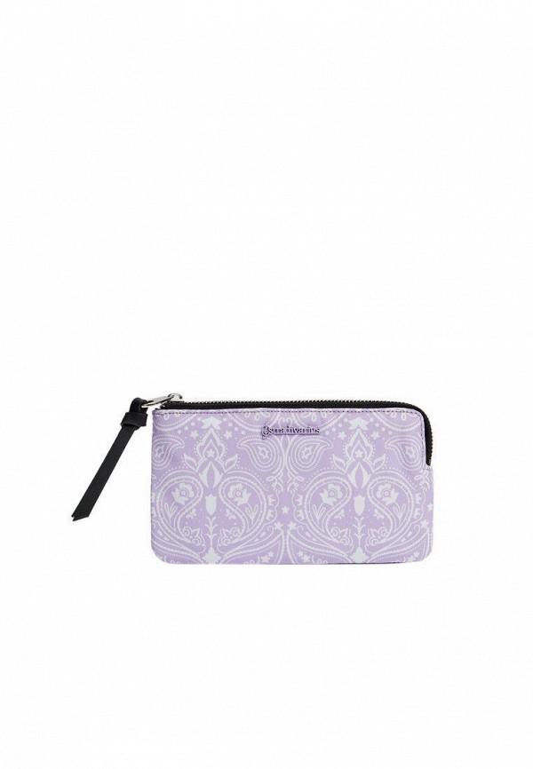 женский кошелёк stradivarius, фиолетовый