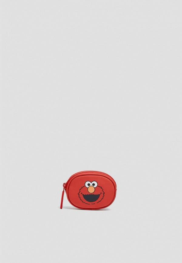 женский кошелёк pull & bear, красный
