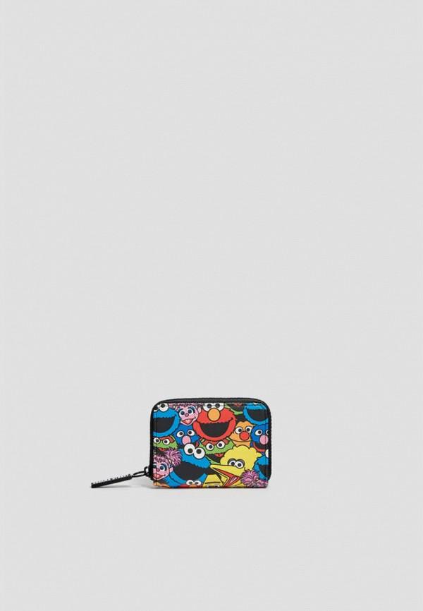 женский кошелёк pull & bear, черный
