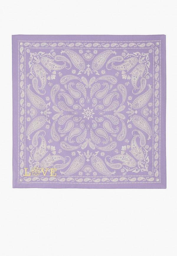 женский платок stradivarius, фиолетовый