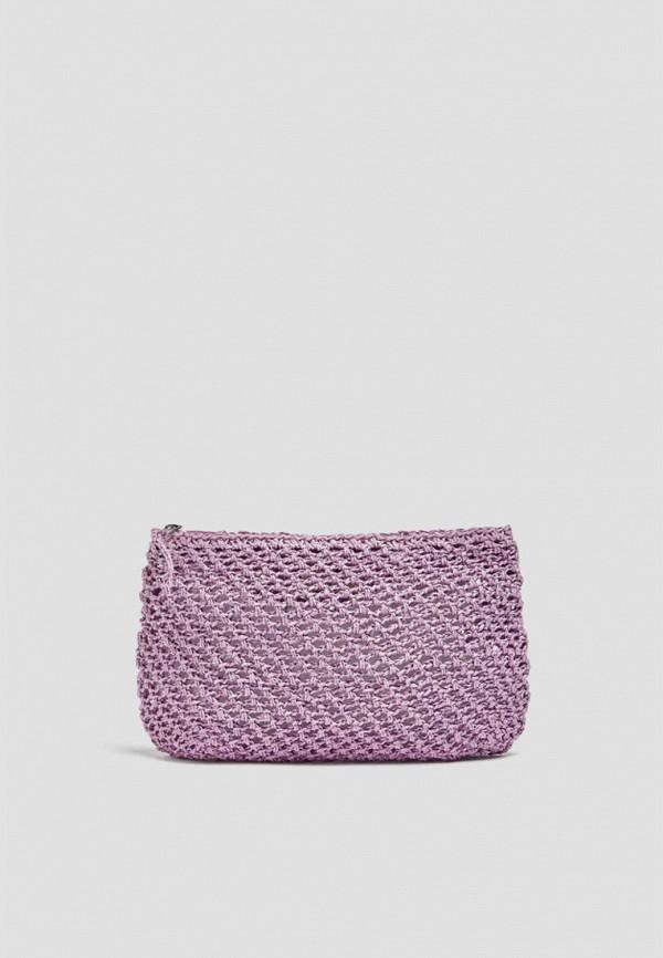 женская косметичка pull & bear, фиолетовая