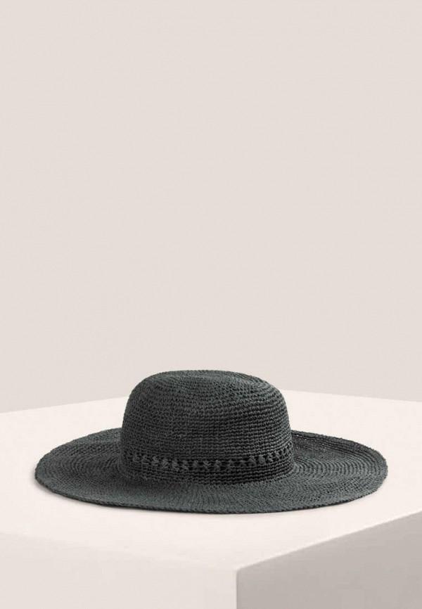 женская шляпа oysho, хаки
