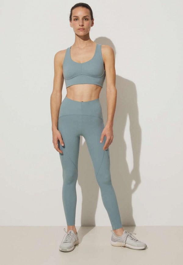 женский спортивный костюм oysho, бирюзовый