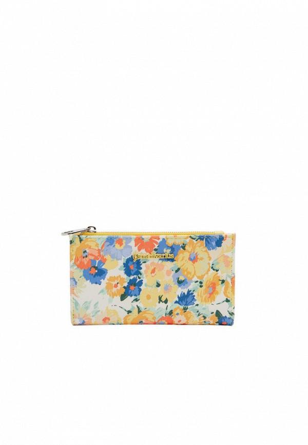 женский кошелёк stradivarius, разноцветный