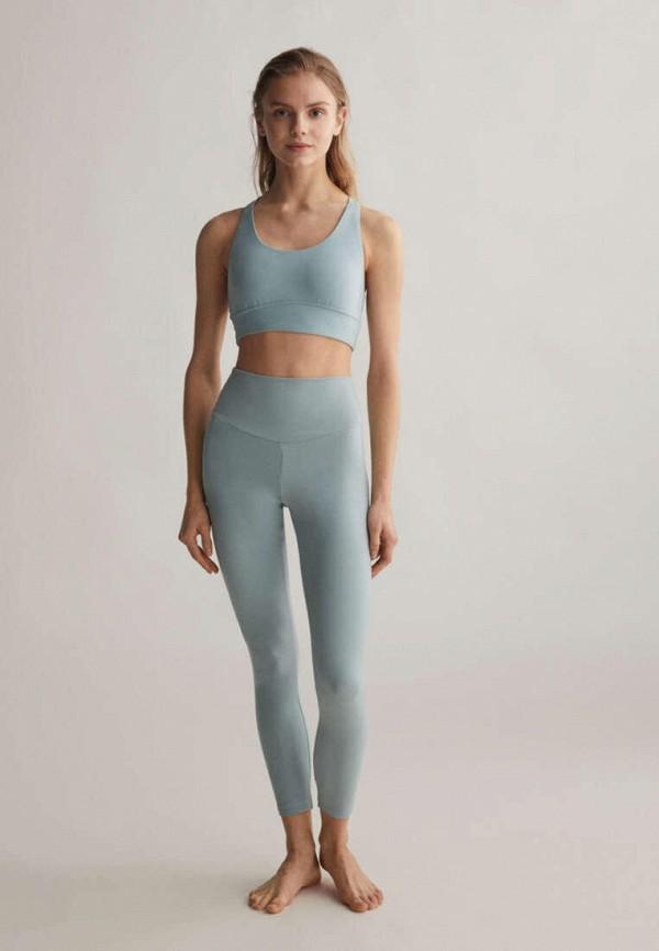 женский спортивный костюм oysho, голубой
