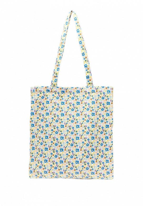 женская сумка-шоперы stradivarius, разноцветная