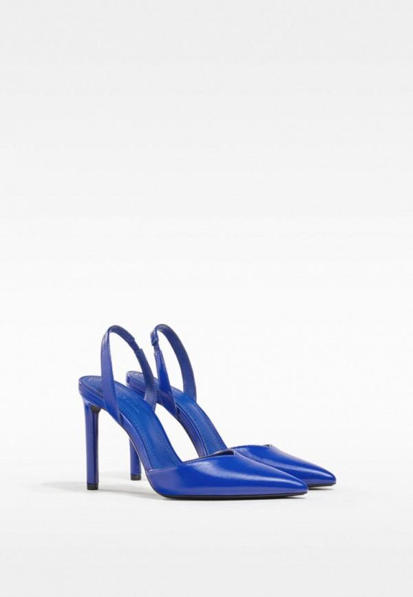 женские туфли bershka, синие