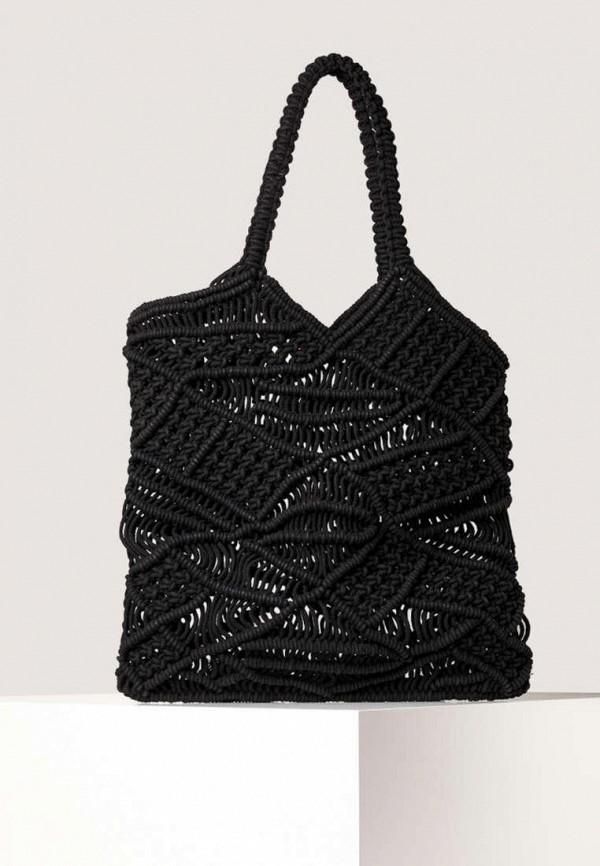 женская пляжные сумка oysho, черная