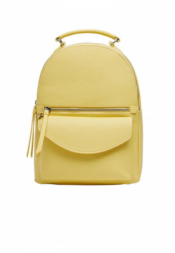 женский рюкзак stradivarius, желтый