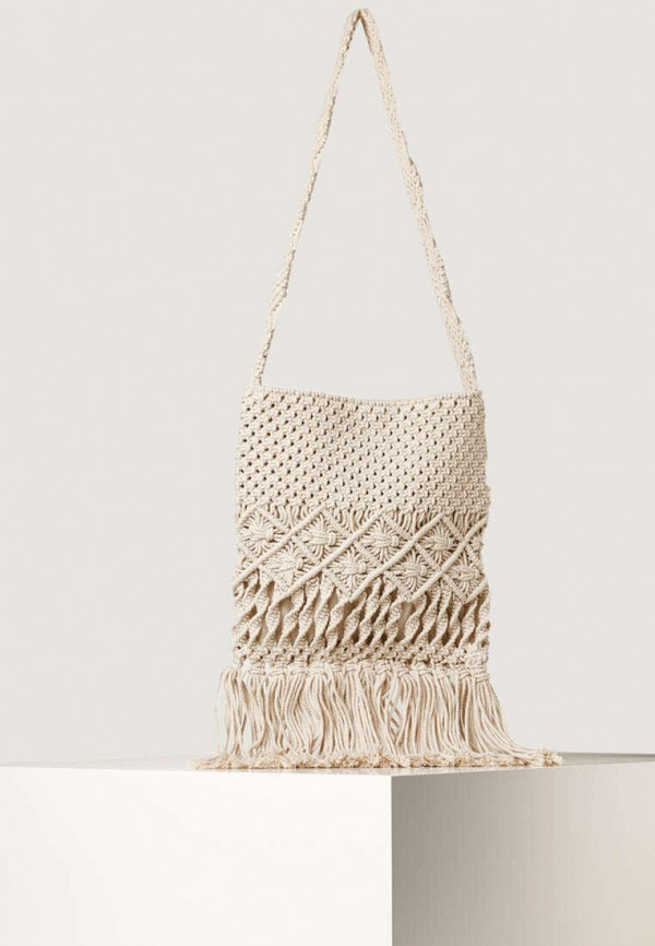 женская пляжные сумка oysho, белая