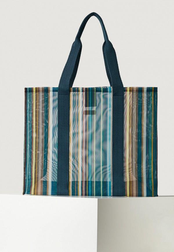 женская пляжные сумка oysho, разноцветная