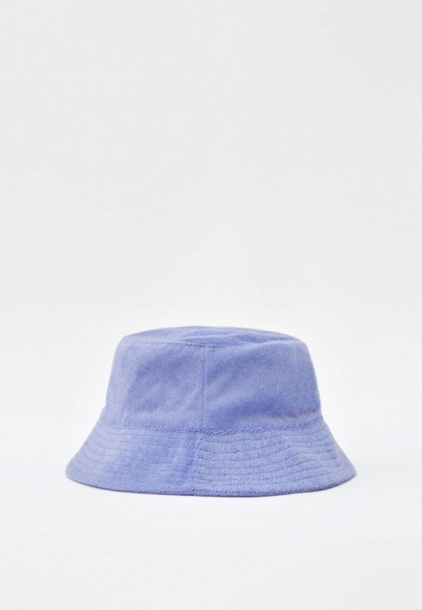 женская панама pull & bear, фиолетовая