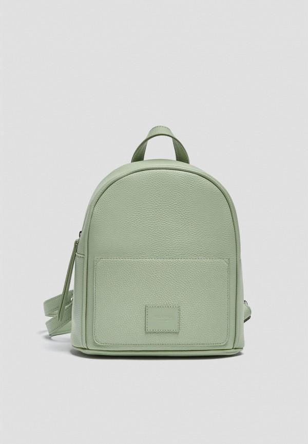 женский рюкзак pull & bear, зеленый