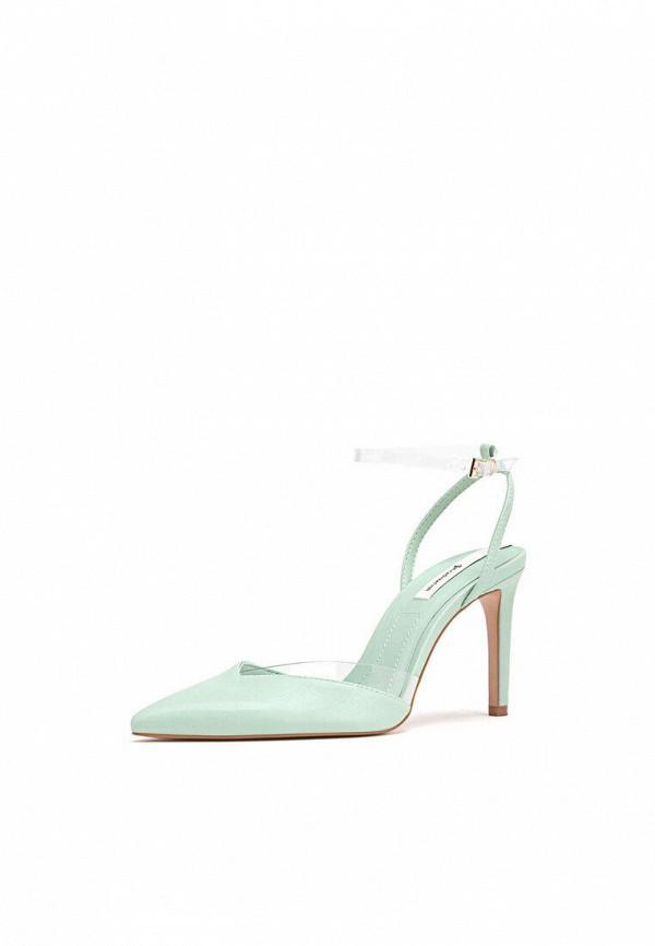 женские туфли stradivarius, зеленые