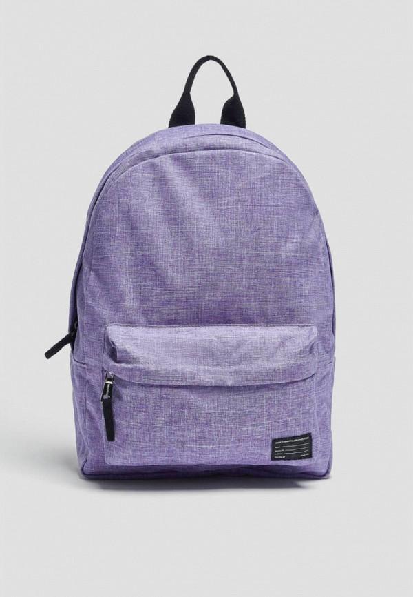 женский рюкзак pull & bear, фиолетовый