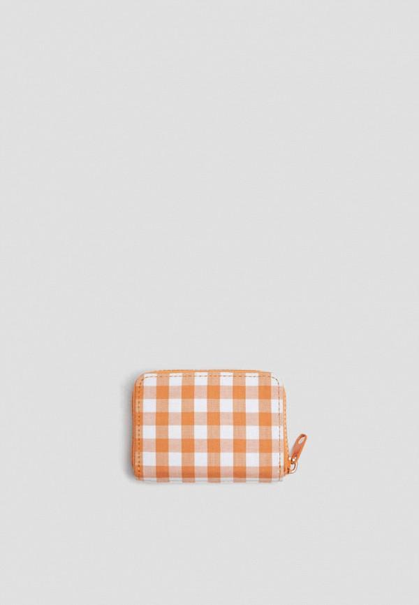 женский кошелёк pull & bear, оранжевый