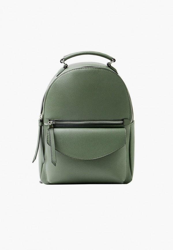 женский рюкзак stradivarius, зеленый