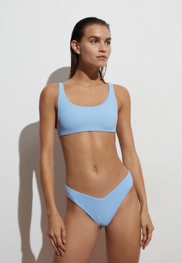 женские плавки oysho, голубые
