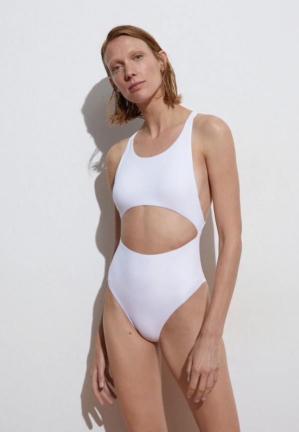 женский купальник oysho, белый
