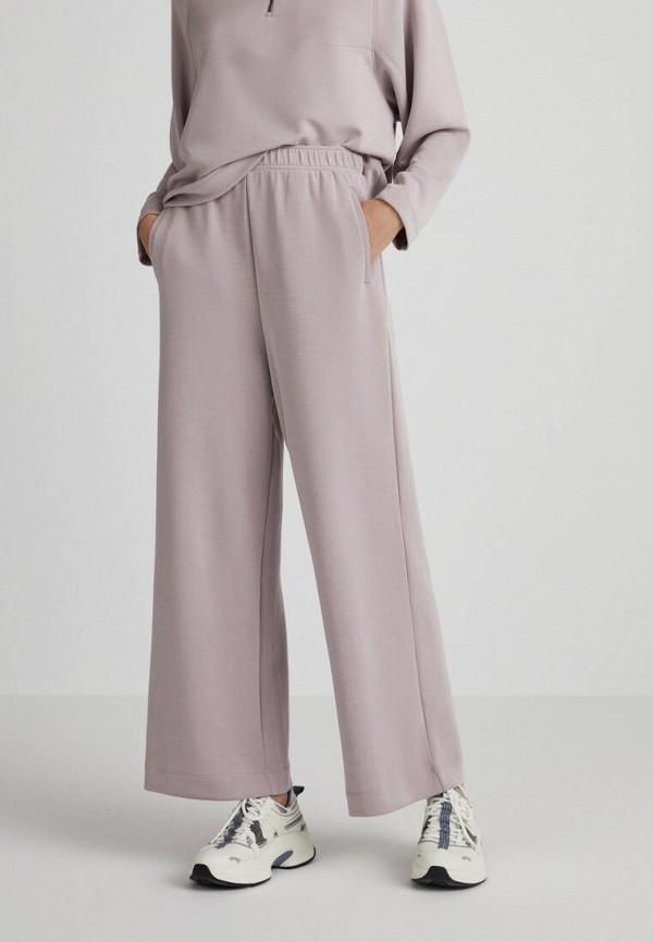 женские спортивные брюки oysho, розовые