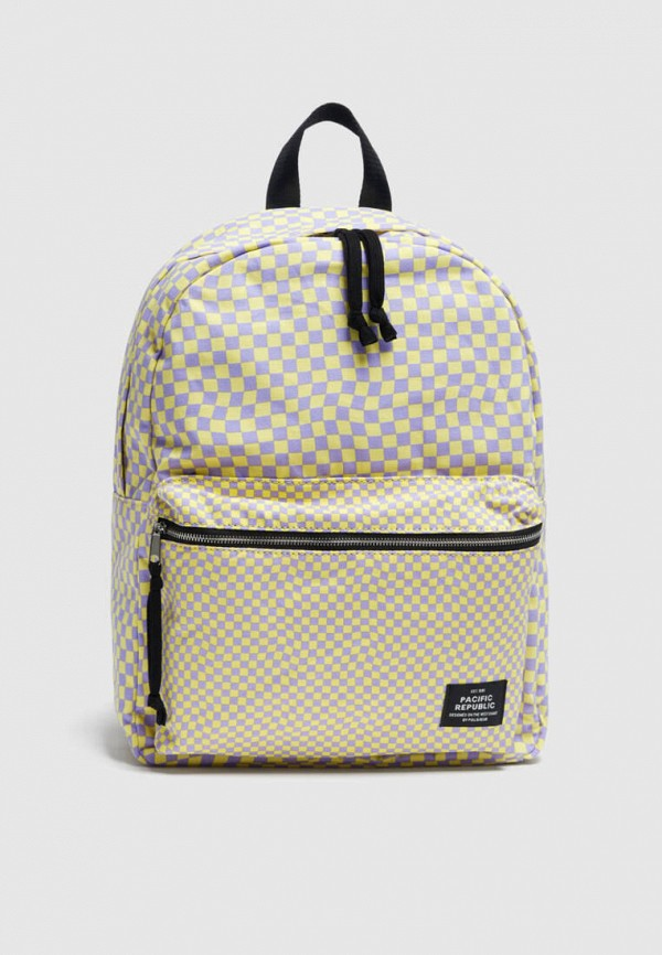 женский рюкзак pull & bear, разноцветный