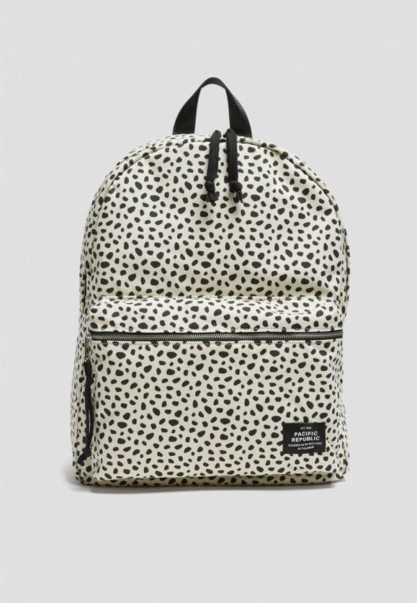 женский рюкзак pull & bear, бежевый