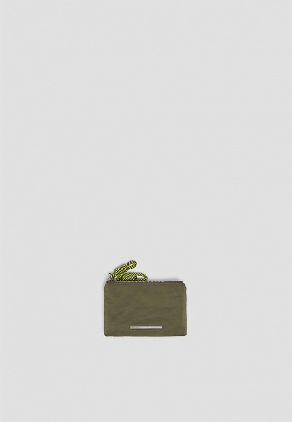 женский кошелёк pull & bear, хаки