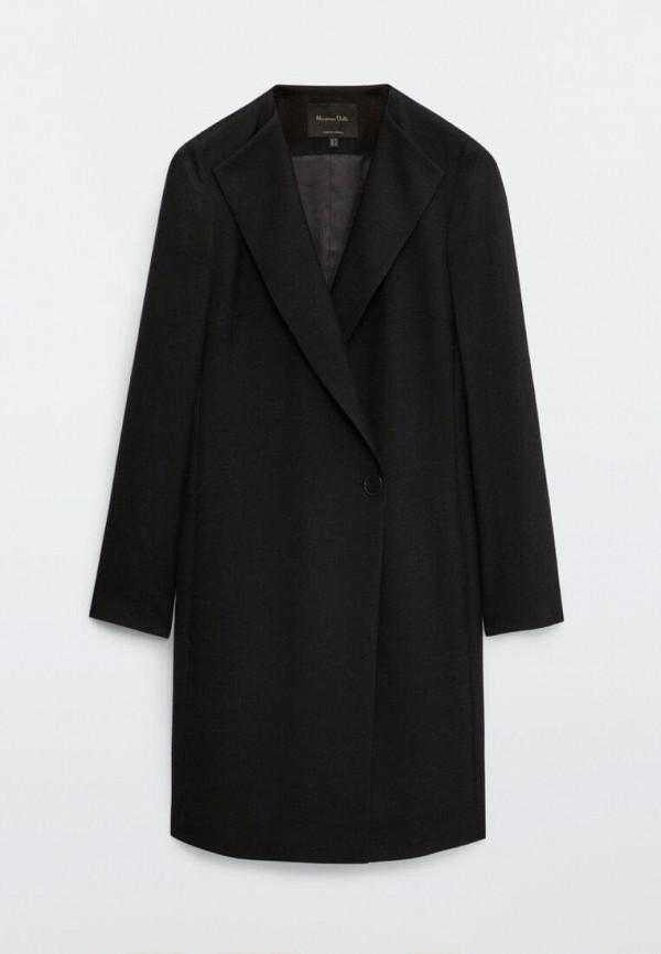 Платье Massimo Dutti черного цвета