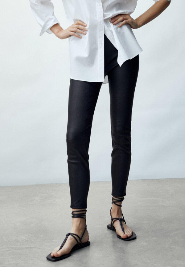 Кожаные брюки