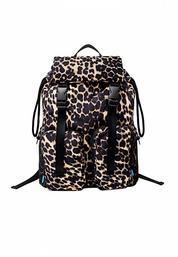 женский рюкзак stradivarius, бежевый