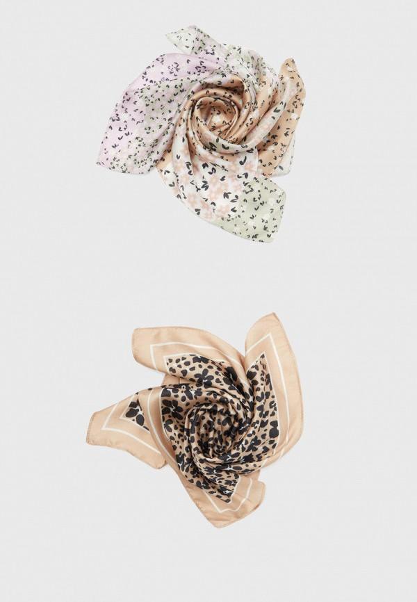 женский платок stradivarius, разноцветный