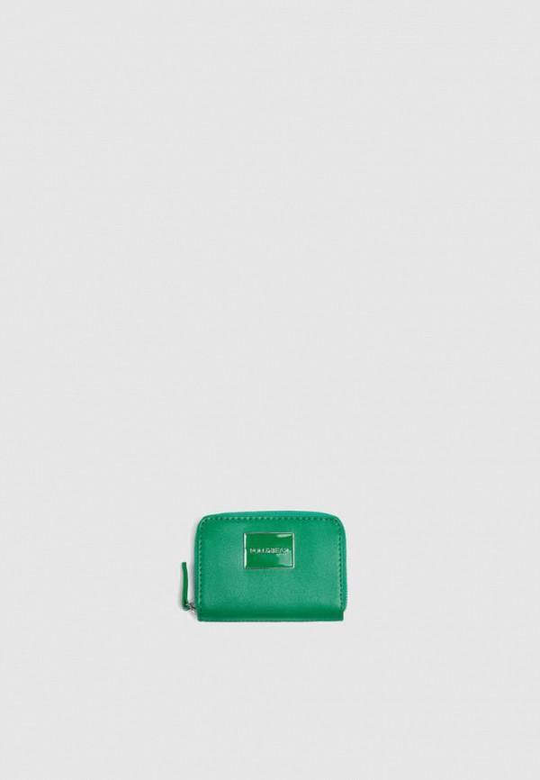 женский кошелёк pull & bear, зеленый
