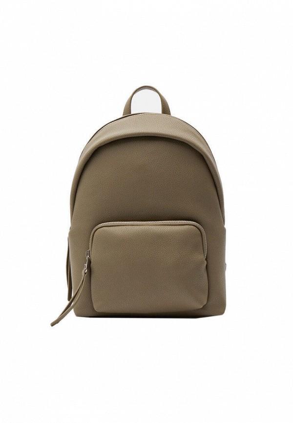 женский рюкзак stradivarius, хаки