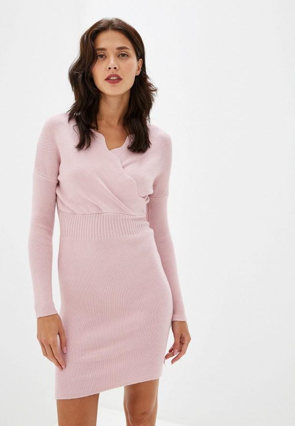 женское повседневные платье izabella, розовое