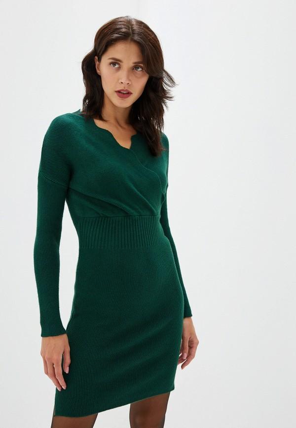 женское повседневные платье izabella, зеленое