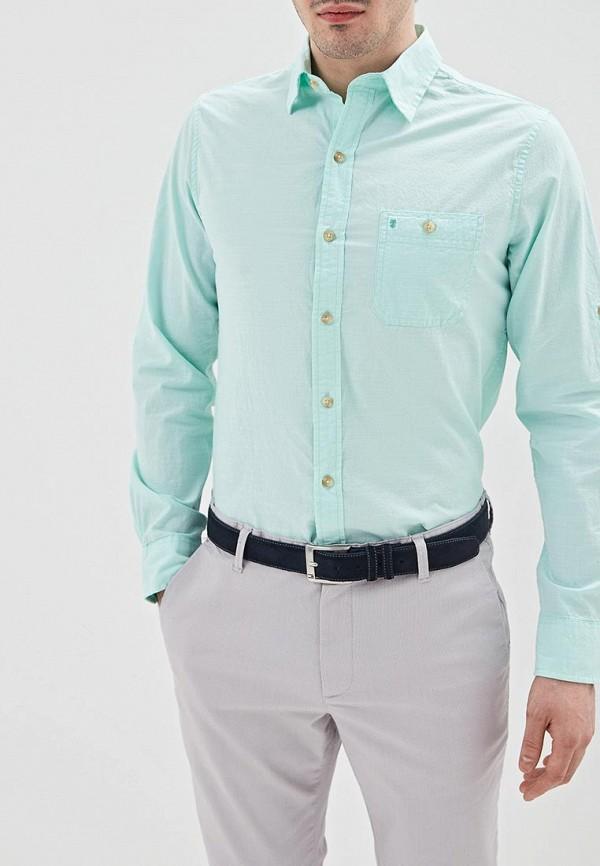 мужская рубашка с длинным рукавом izod, зеленая