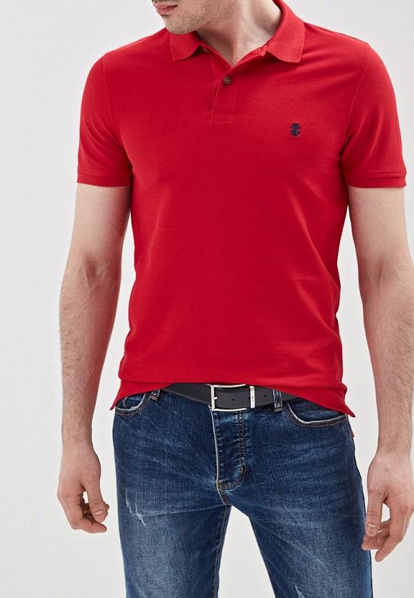 мужское поло izod, красное